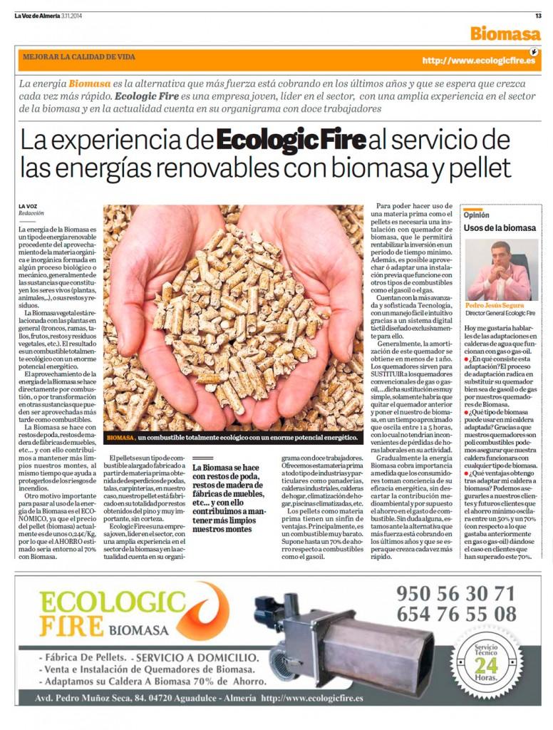 Energías renovables con biomasa